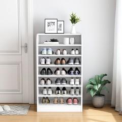 Armoire à chaussures simple en bois massif