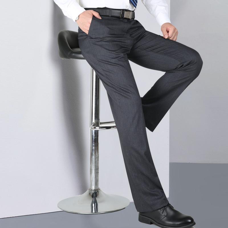 Pantalon de costume en tissue respirant et ample