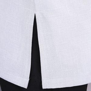 Vêtement(Top) de travail pour concierges à manches courtes