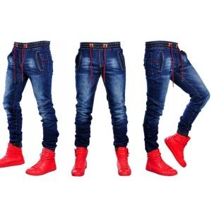 Pantalon jean bleu stretch pour homme