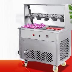 Machine à crème glacée roulée