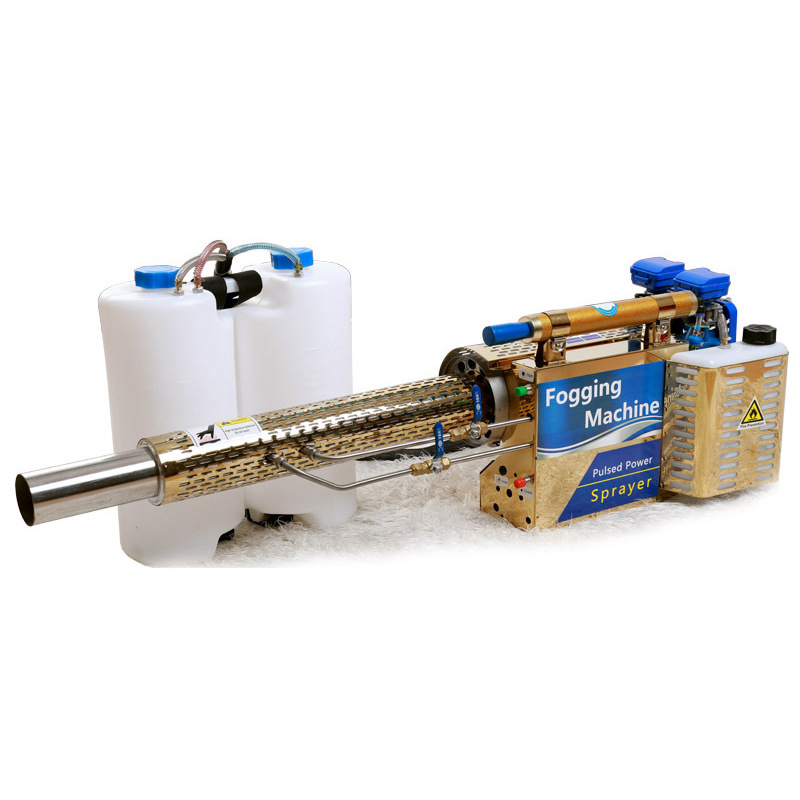 Pulvérisateur thermique à jet pulsé