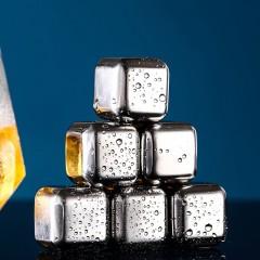 cube de glace en acier  inoxydable