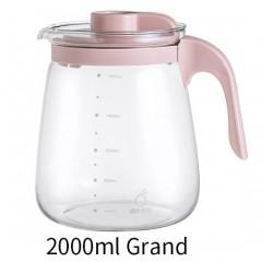 Bouilloire en verre  résistant à haute température