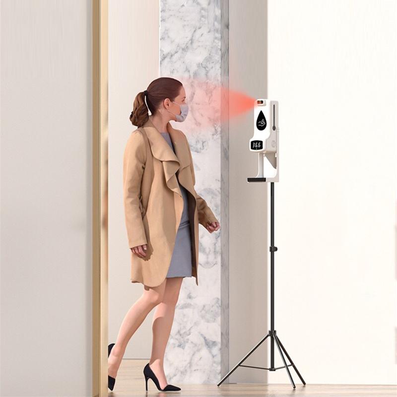 Thermomètre distributeur de désinfectant multifonction K99pro X