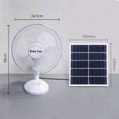 Ventilateur solaire 12 pouces