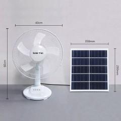 Ventilateur électrique solaire 16 pouces