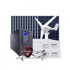Système d'énergie éolienne et solaire