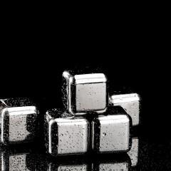 Cube à glace en acier inox pour rafraichissement de boisson